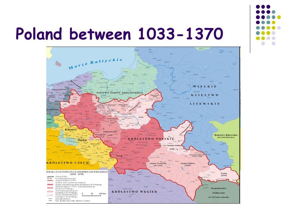 Poland between 1033-1370