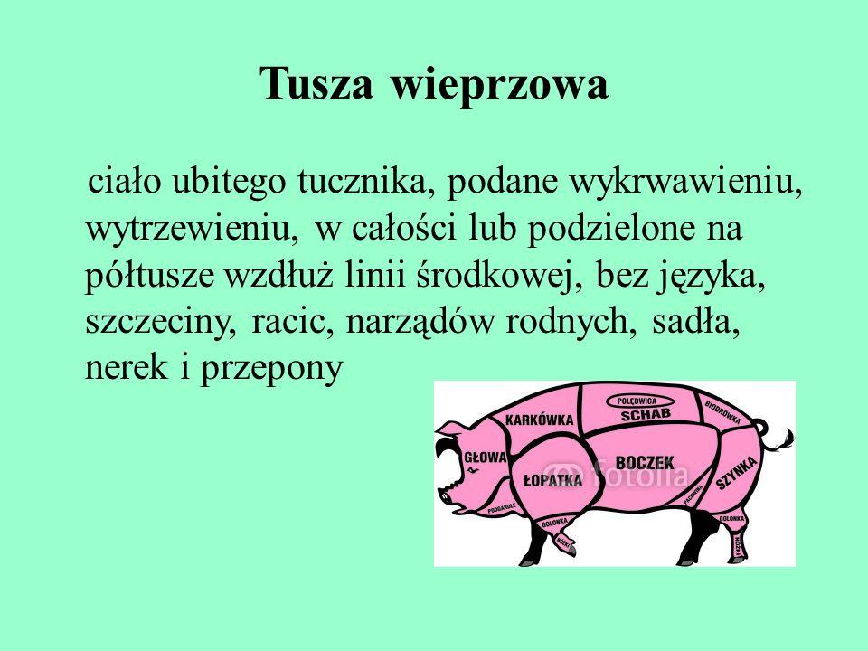 Tusza wieprzowa