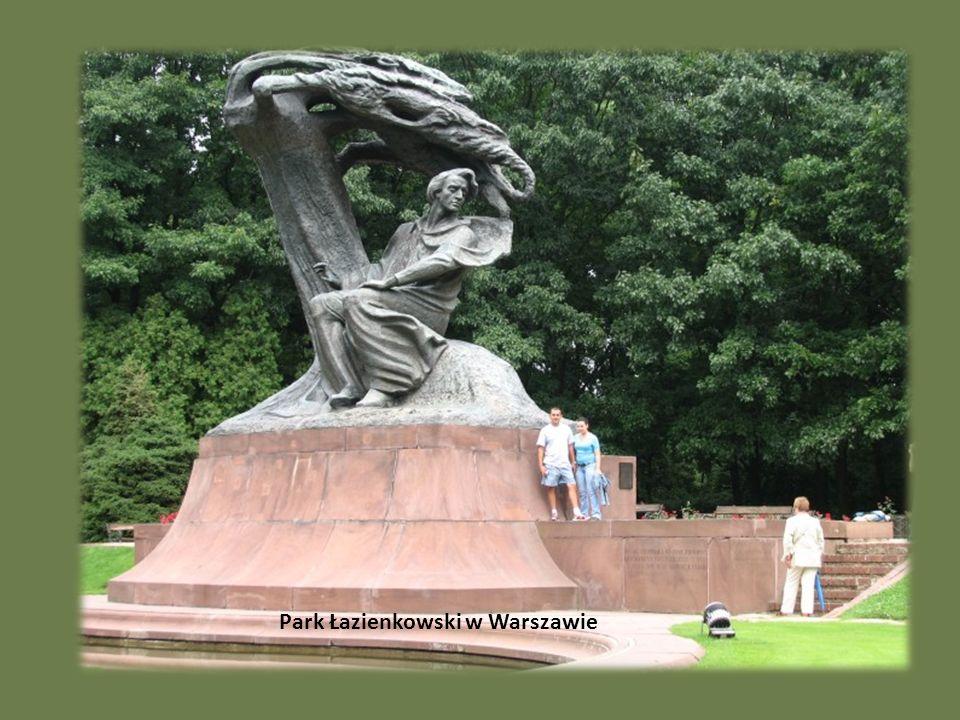 Park Łazienkowski w Warszawie