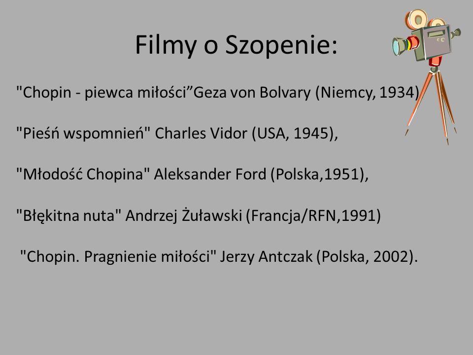 Filmy o Szopenie: