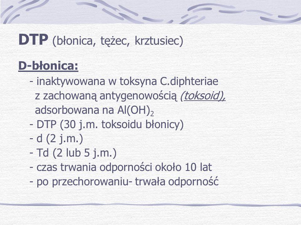 DTP (błonica, tężec, krztusiec)