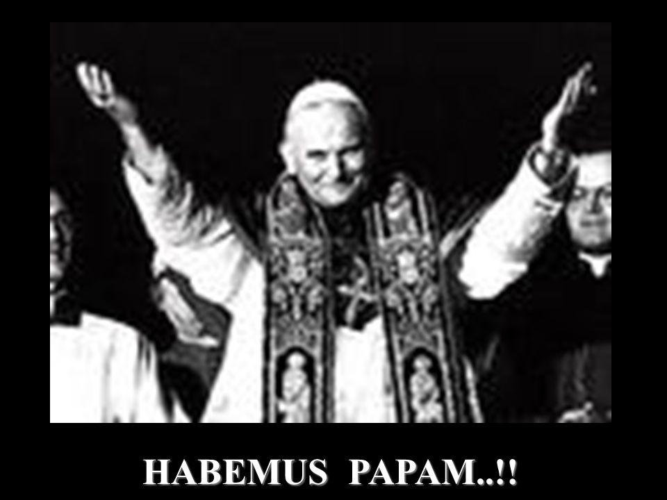 HABEMUS PAPAM..!!