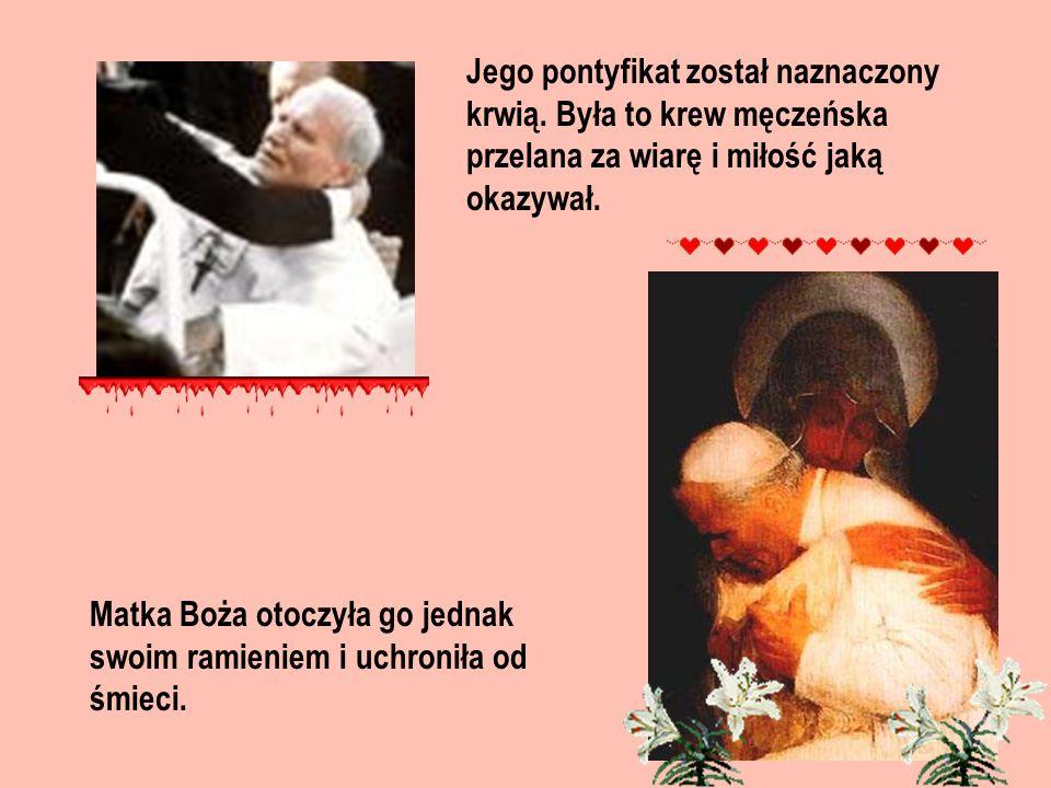 Jego pontyfikat został naznaczony krwią