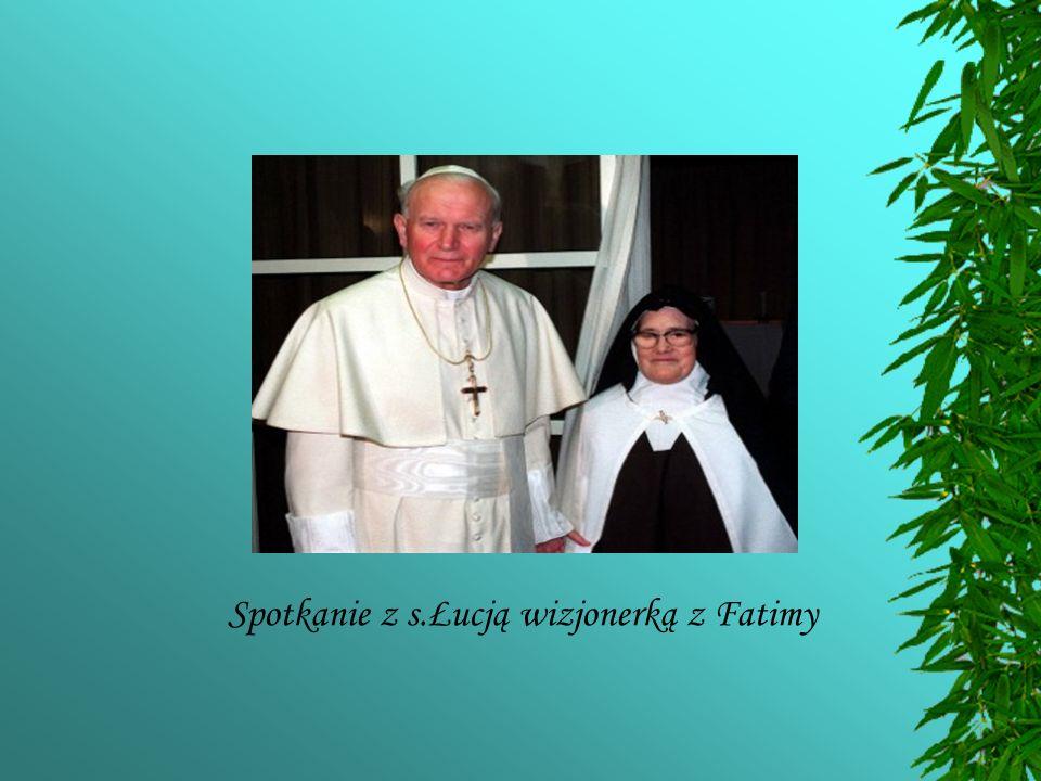 Spotkanie z s.Łucją wizjonerką z Fatimy