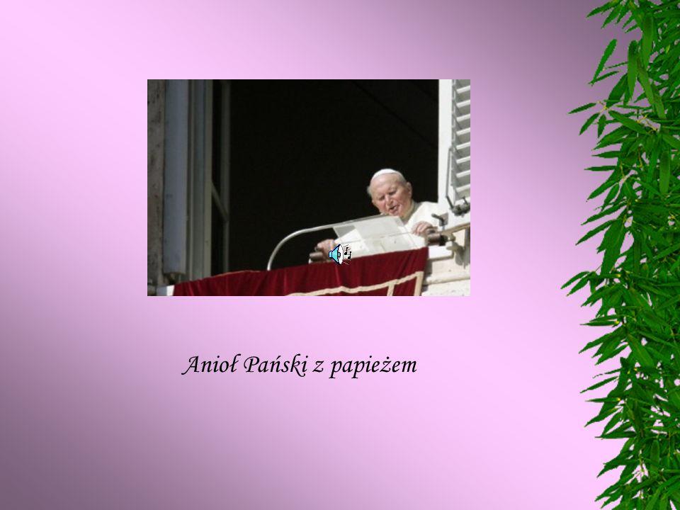 Anioł Pański z papieżem