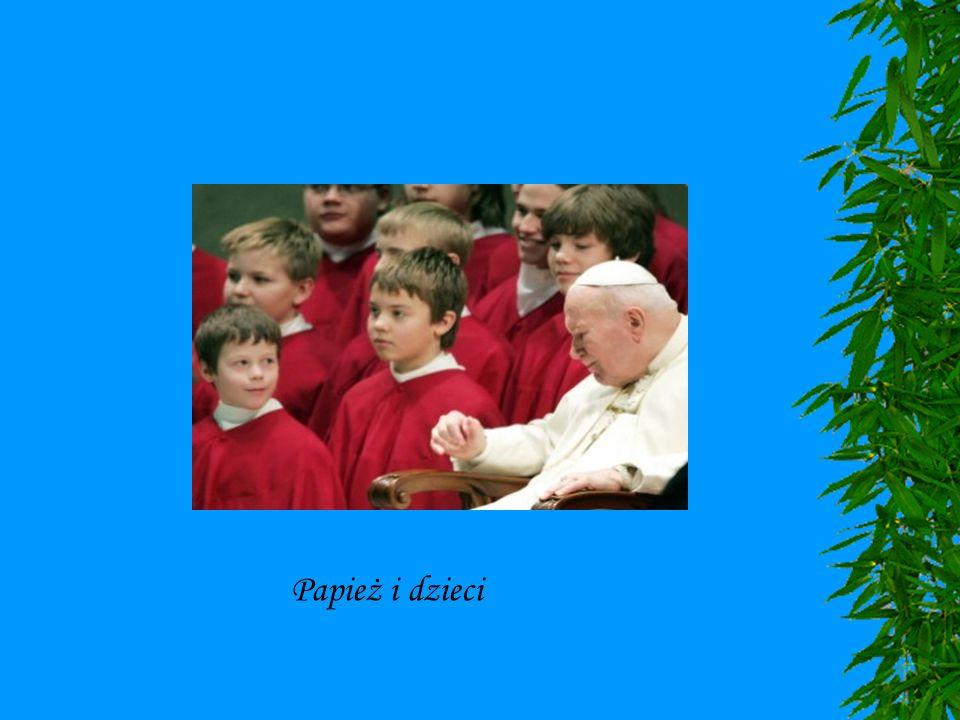 Papież i dzieci