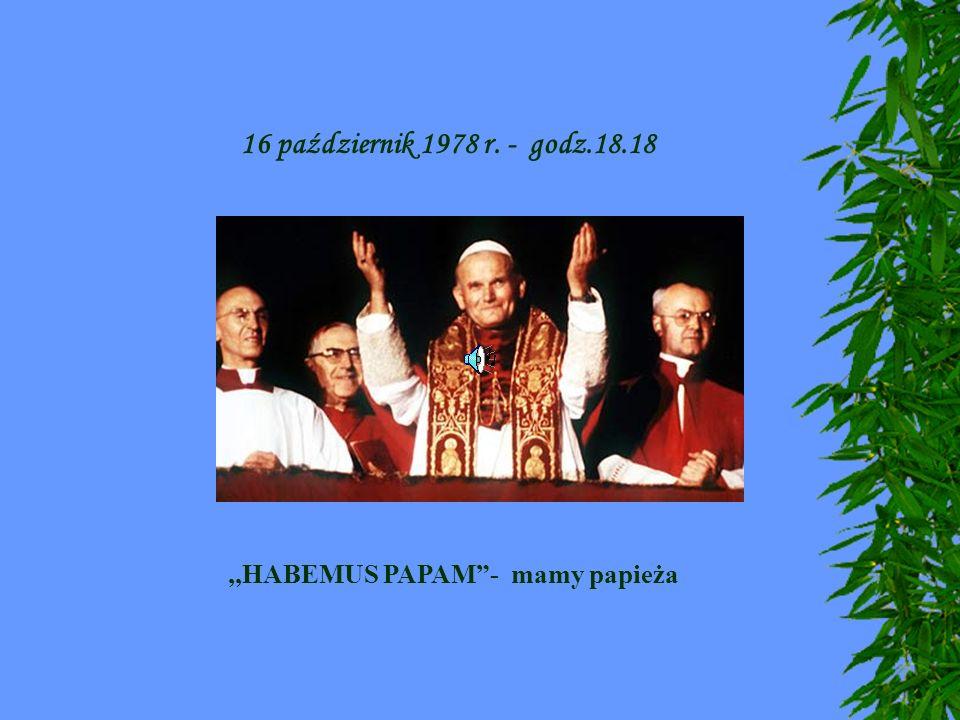,,HABEMUS PAPAM - mamy papieża
