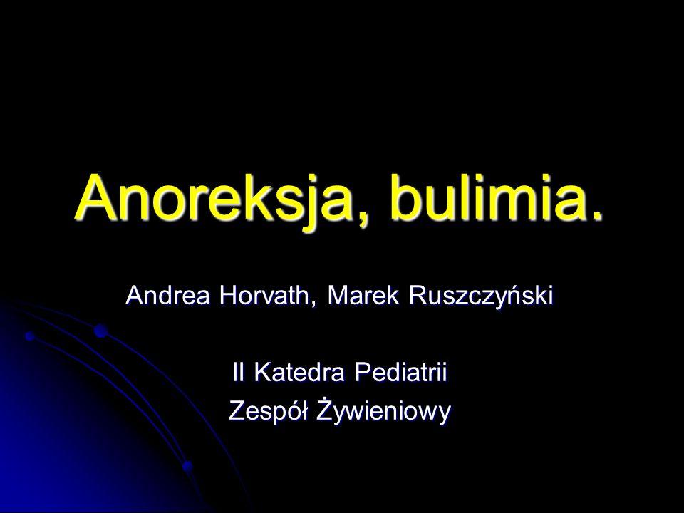 Andrea Horvath, Marek Ruszczyński