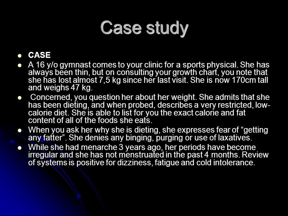 Case study CASE.