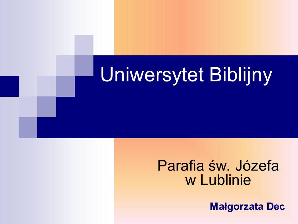 Parafia św. Józefa w Lublinie Małgorzata Dec
