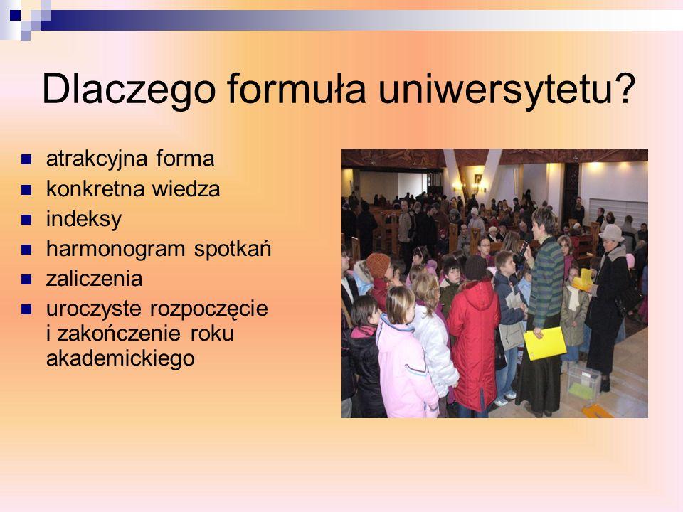Dlaczego formuła uniwersytetu