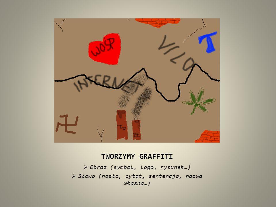 TWORZYMY GRAFFITI Obraz (symbol, logo, rysunek…)