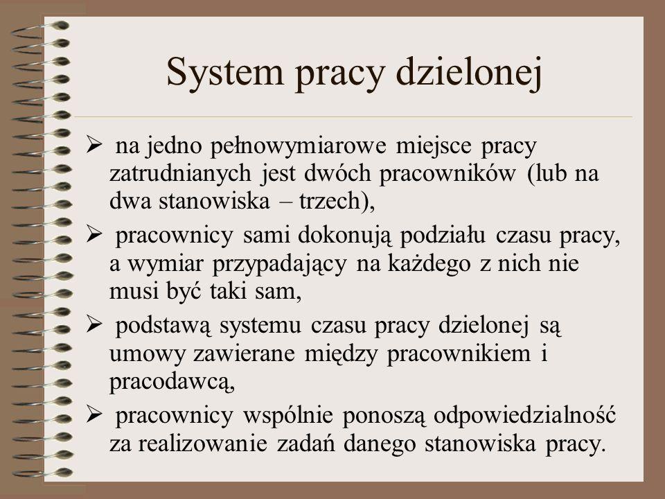 System pracy dzielonej