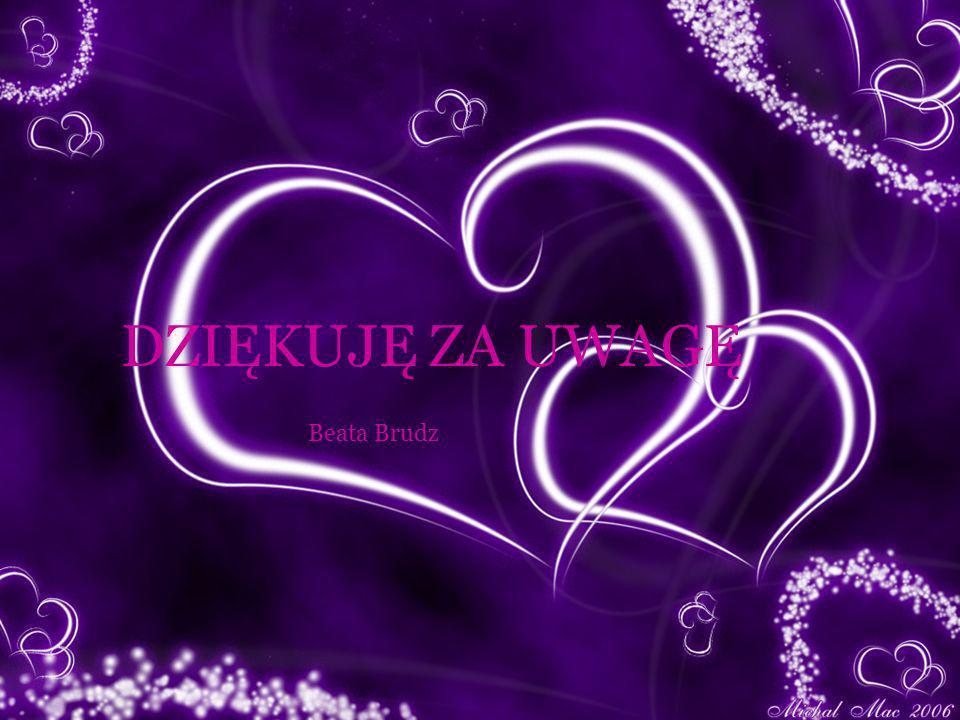 DZIĘKUJĘ ZA UWAGĘ Beata Brudz