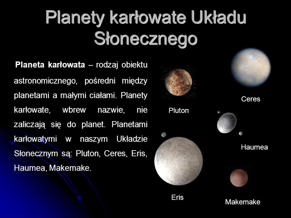Planety karłowate Układu Słonecznego