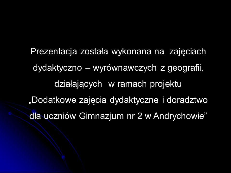 dla uczniów Gimnazjum nr 2 w Andrychowie