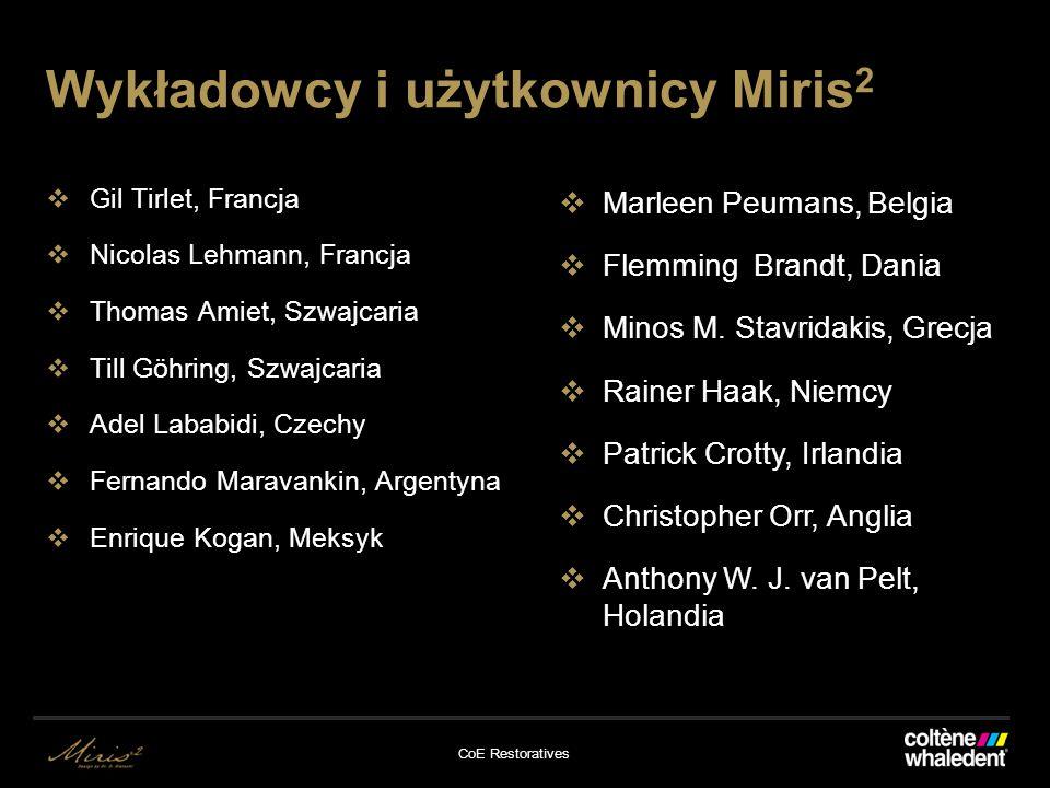 Wykładowcy i użytkownicy Miris2