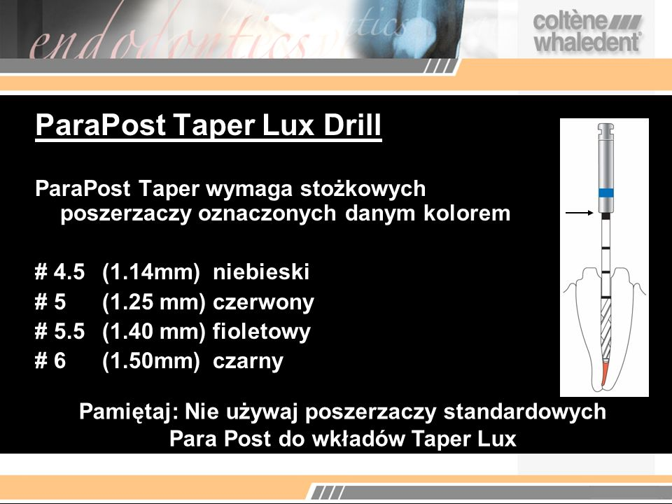 ParaPost Taper Lux Drill