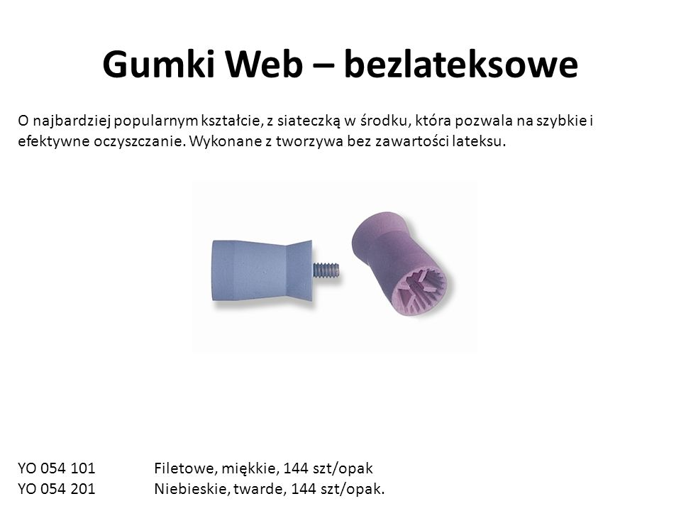 Gumki Web – bezlateksowe