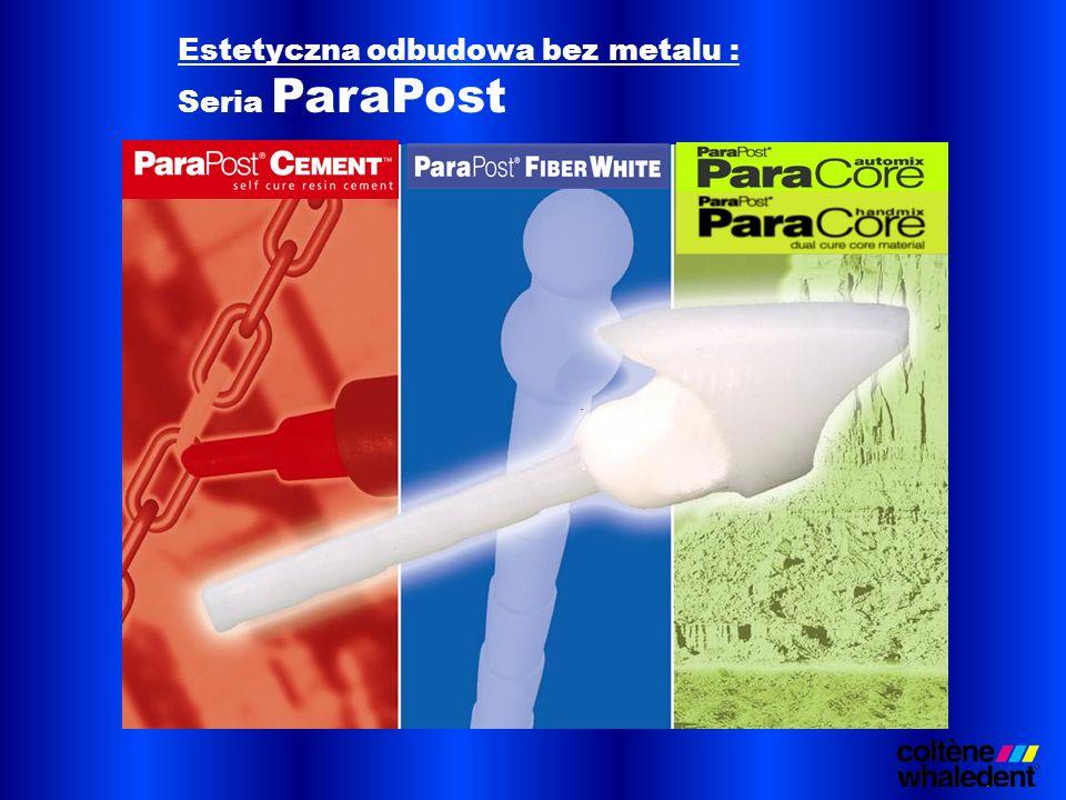 Estetyczna odbudowa bez metalu : Seria ParaPost