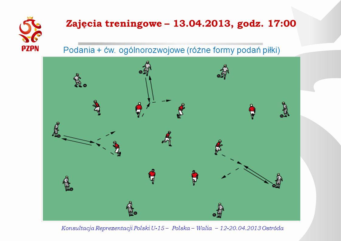 Zajęcia treningowe – 13.04.2013, godz. 17:00