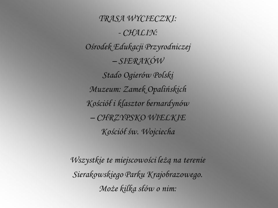 Ośrodek Edukacji Przyrodniczej – SIERAKÓW Stado Ogierów Polski