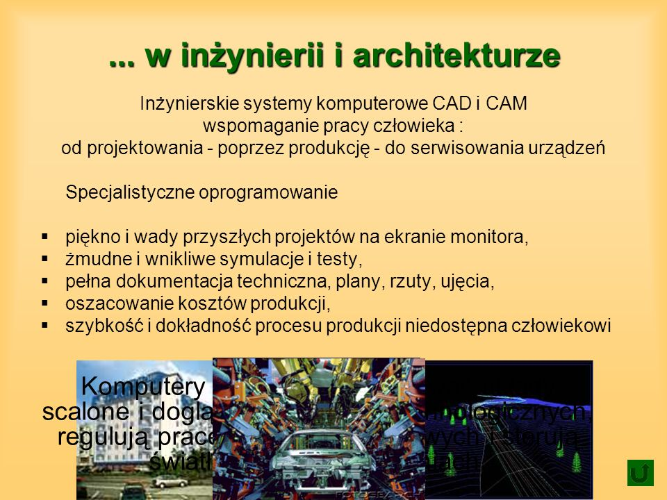 ... w inżynierii i architekturze