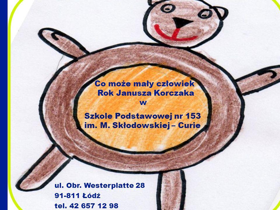 Co może mały człowiek Rok Janusza Korczaka w
