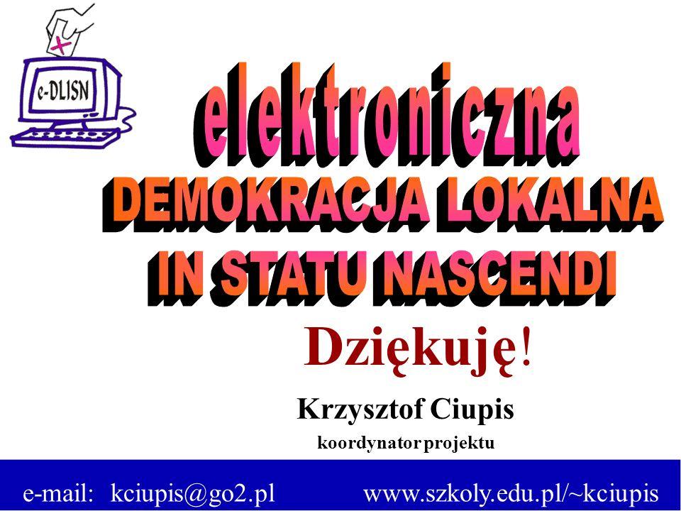 e-mail: kciupis@go2.pl www.szkoly.edu.pl/~kciupis