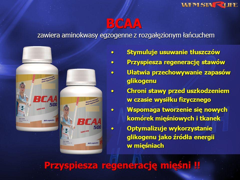 Przyspiesza regenerację mięśni !!