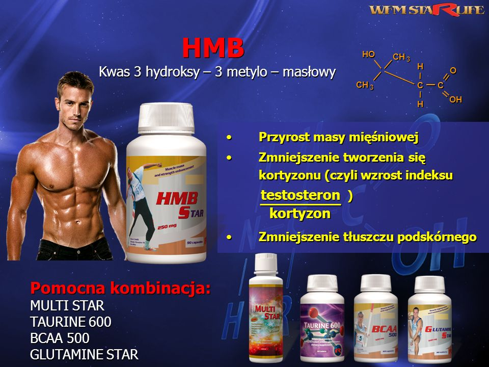 Kwas 3 hydroksy – 3 metylo – masłowy