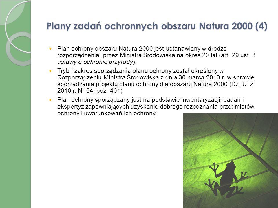 Plany zadań ochronnych obszaru Natura 2000 (4)