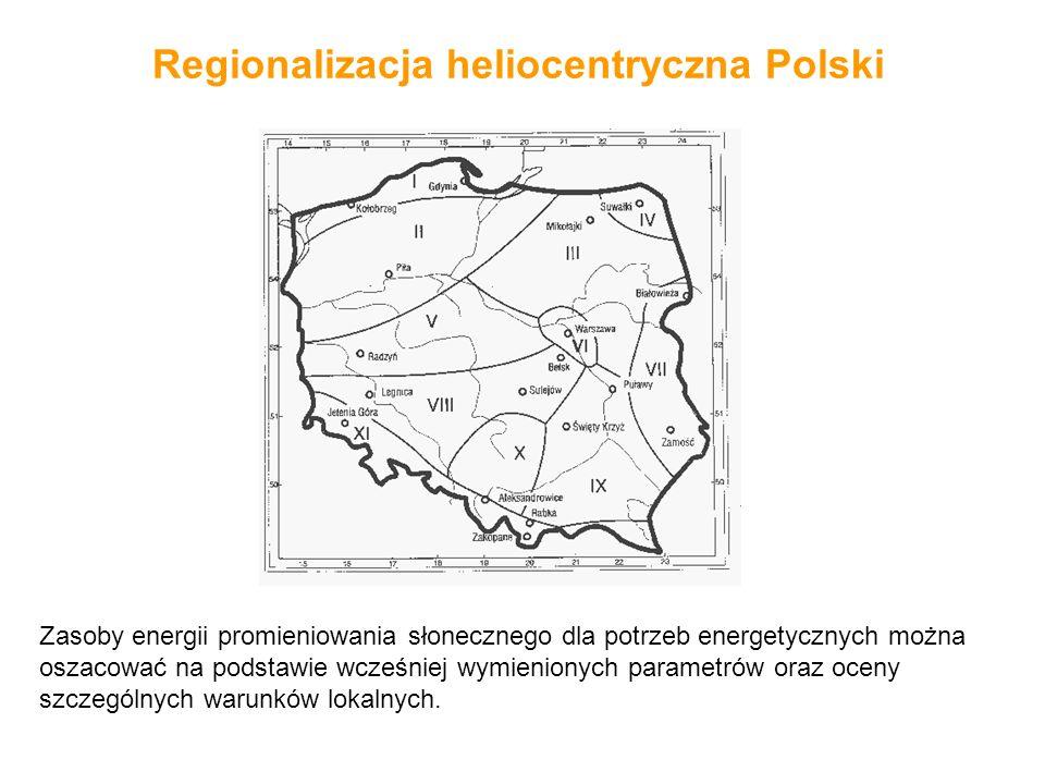 Regionalizacja heliocentryczna Polski