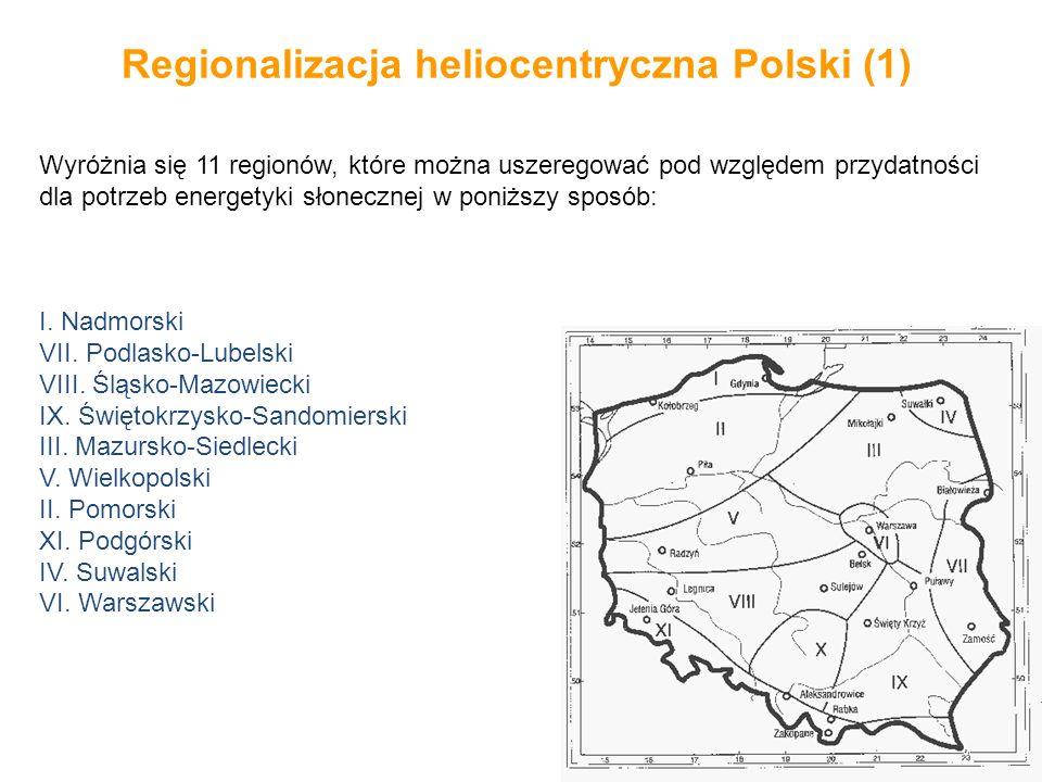 Regionalizacja heliocentryczna Polski (1)