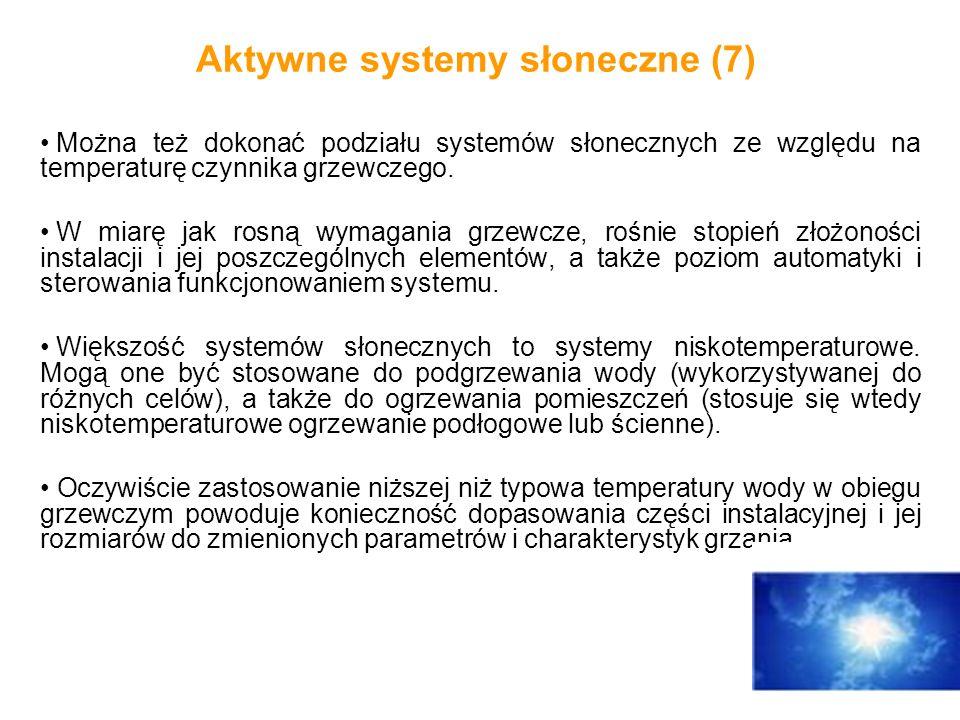 Aktywne systemy słoneczne (7)
