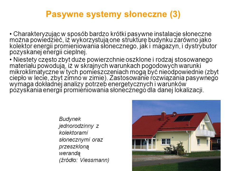 Pasywne systemy słoneczne (3)