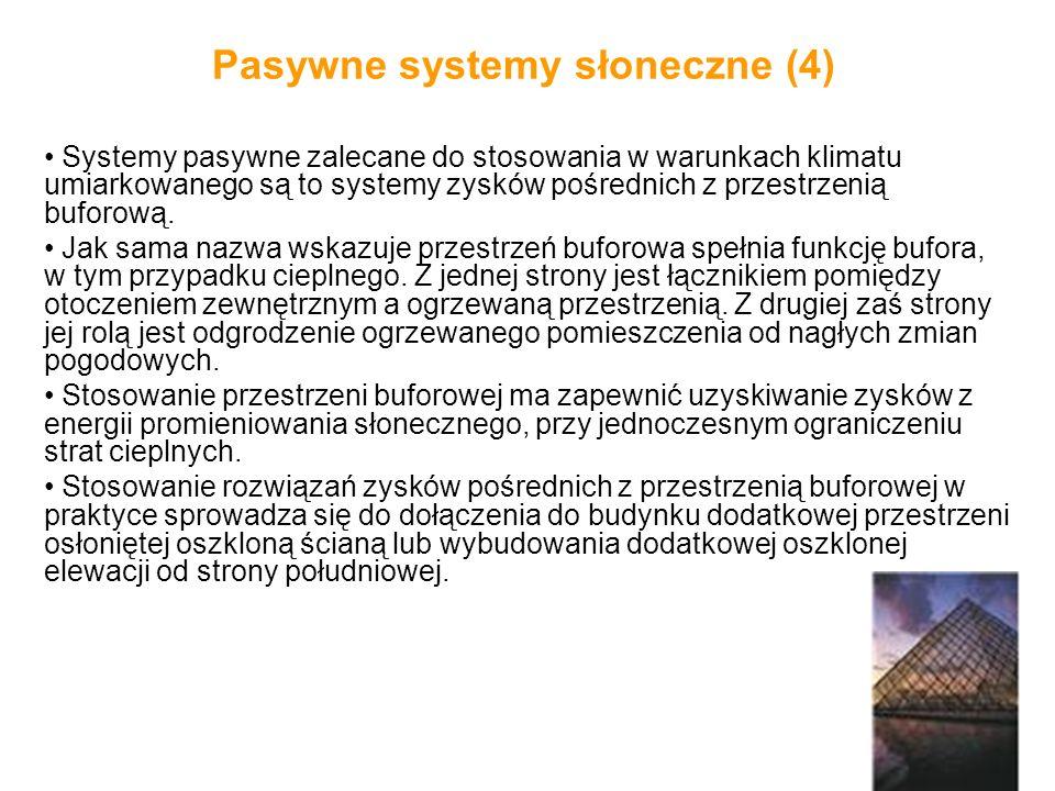 Pasywne systemy słoneczne (4)