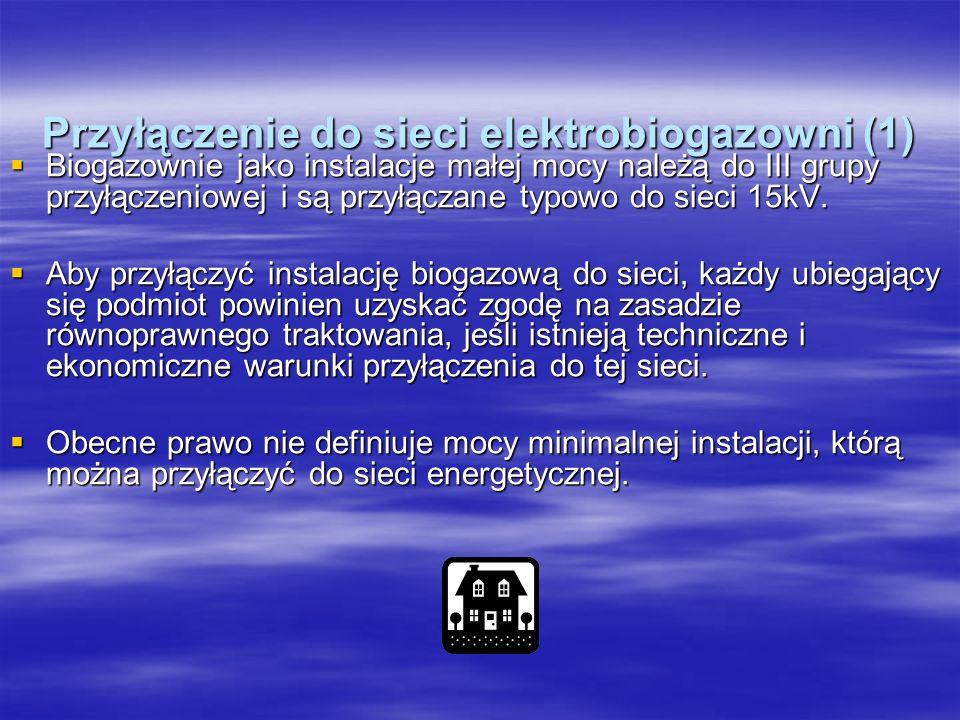 Przyłączenie do sieci elektrobiogazowni (1)