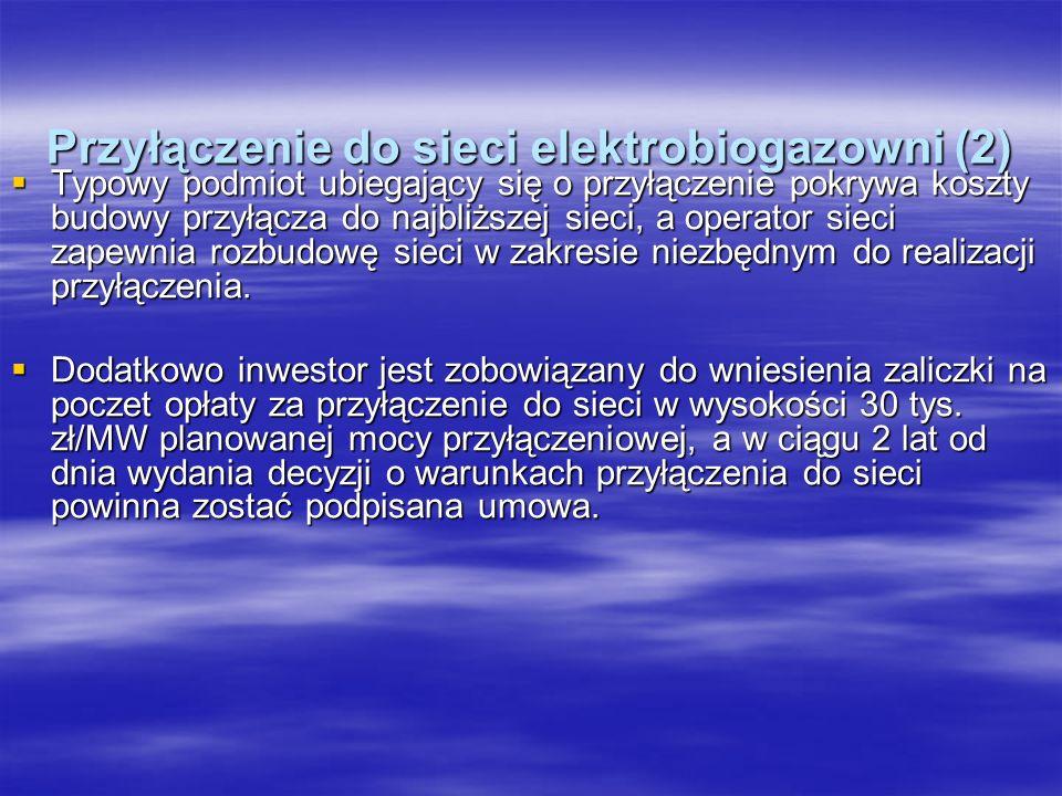 Przyłączenie do sieci elektrobiogazowni (2)