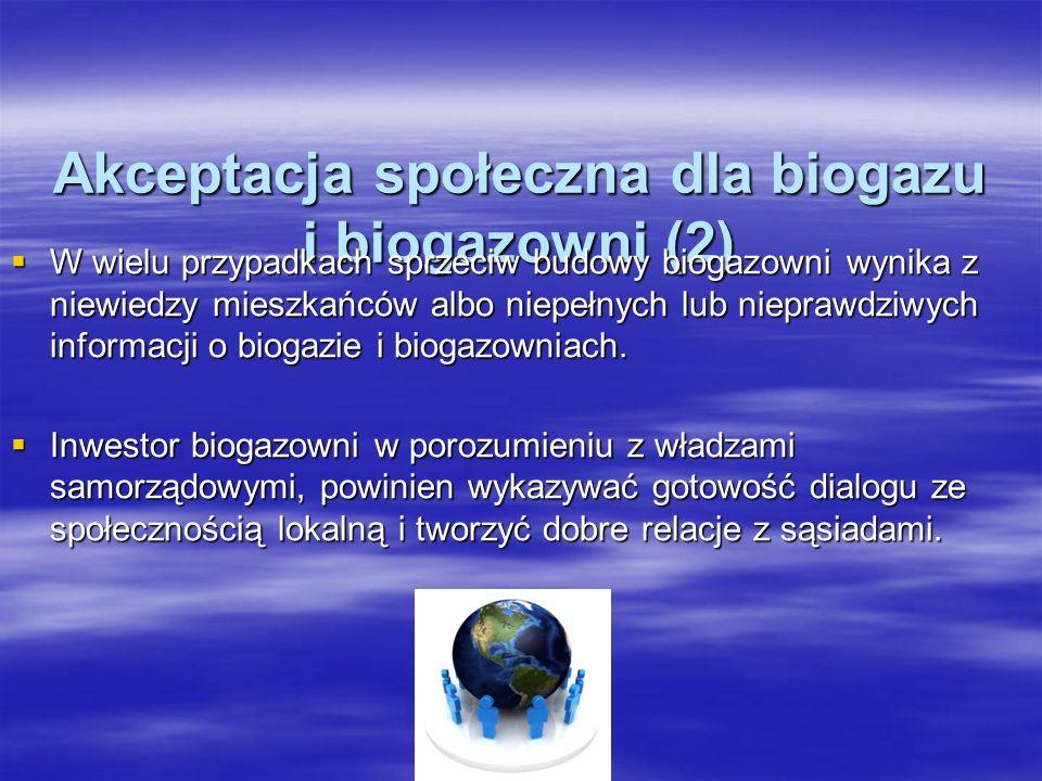 Akceptacja społeczna dla biogazu i biogazowni (2)