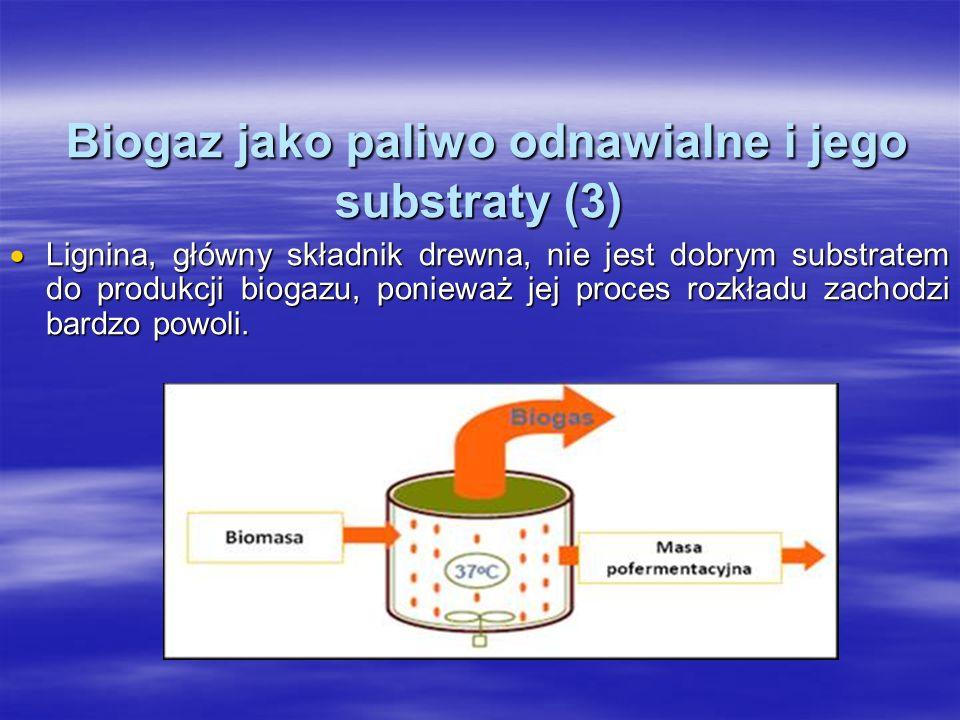Biogaz jako paliwo odnawialne i jego substraty (3)