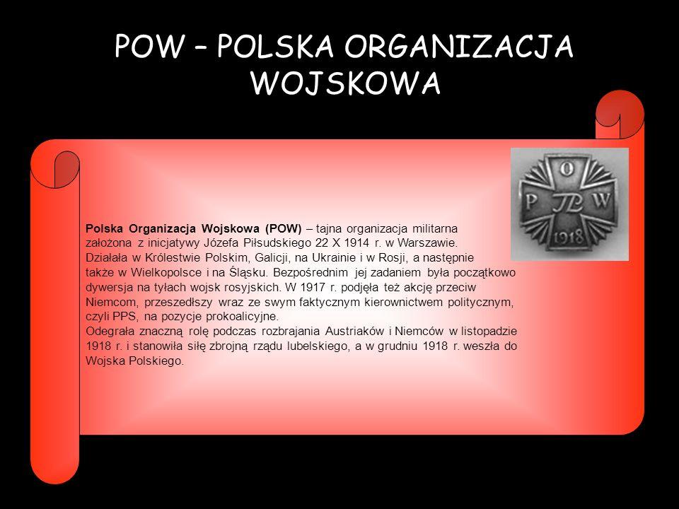 POW – POLSKA ORGANIZACJA WOJSKOWA
