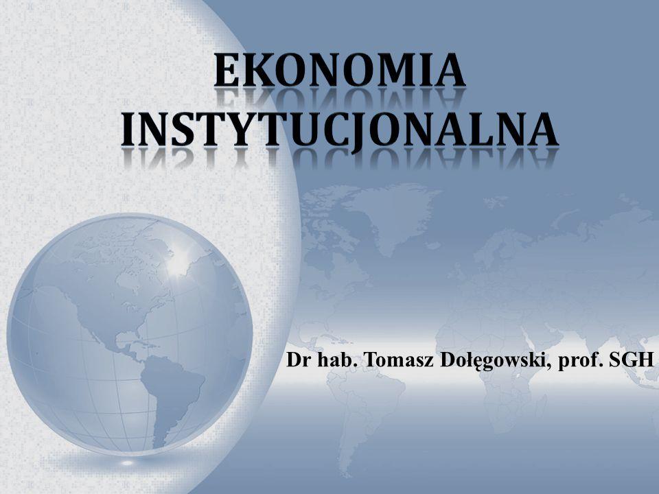 Ekonomia instytucjonalna