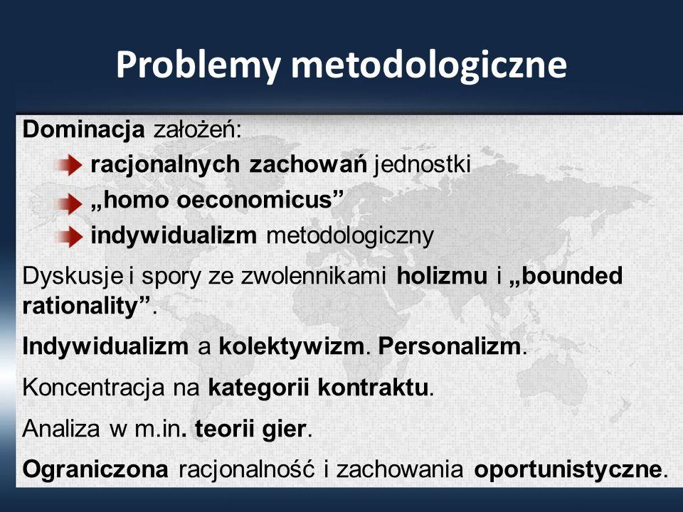 Problemy metodologiczne