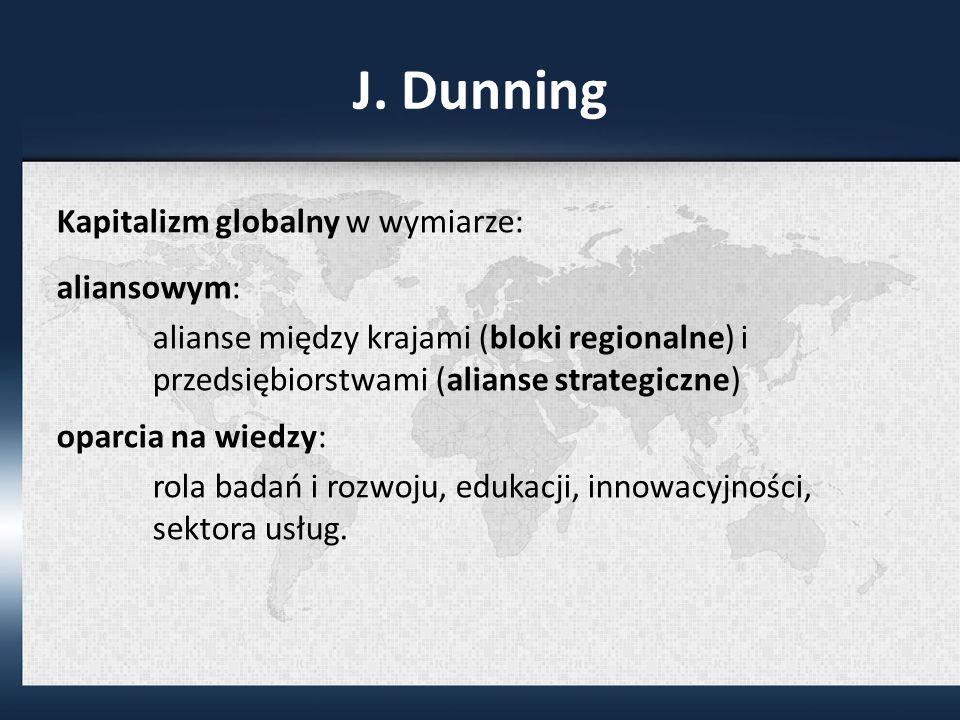 J. Dunning