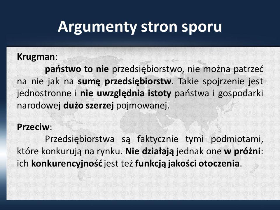Argumenty stron sporu