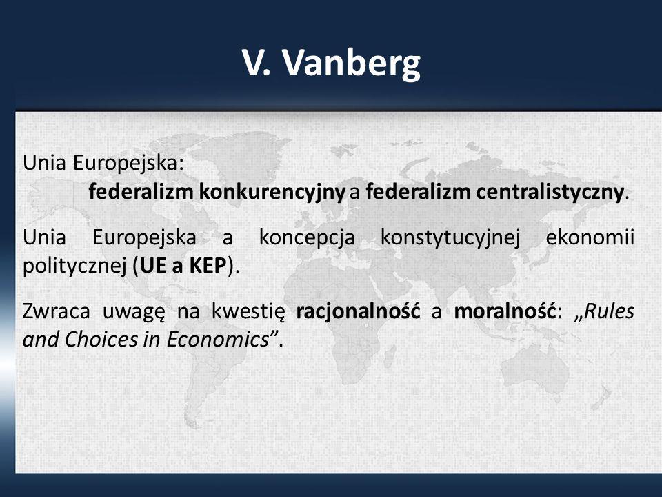 V. Vanberg