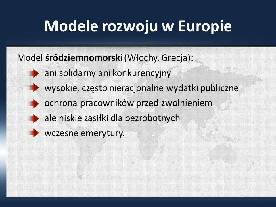 Modele rozwoju w Europie