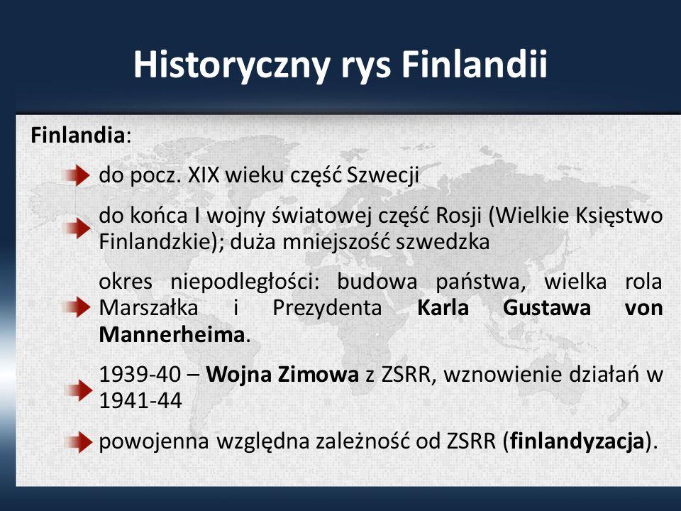 Historyczny rys Finlandii