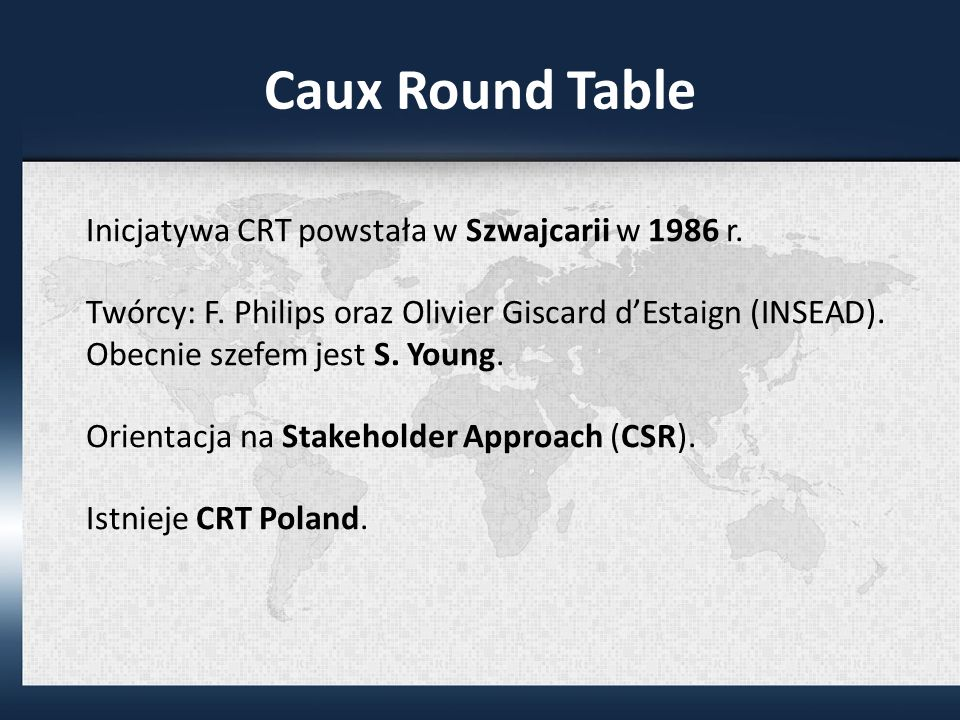 Caux Round Table